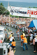 Finish of Kona Ironman, Kailua-Kona, Hawaii