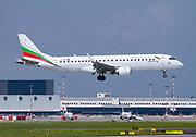 Bulgaria Air Embraer Emb-190-100IGW (LZ-VAR) at Malpensa (MXP / LIMC), Milan, Italy