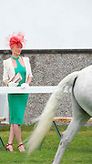 15/08/2013. Avril Dunne from Portarlington at the 90th Connemara Pony show in Clifden Co. Galway. Photo:Andrew Downes