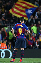 January 30, 2019 - Barcelona, Spain - Luis Suarez during the match between FC Barcelona and Sevilla FC, corresponding to the secong leg of the 1/4 final of the spanish cup, played at the Camp Nou Stadium, on 30th January 2019, in Barcelona, Spain. Photo: Joan Valls/Urbanandsport /NurPhoto. (Credit Image: © Joan Valls/NurPhoto via ZUMA Press)