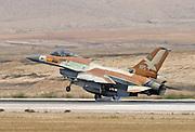 IAF F16I Fighter jet at take off