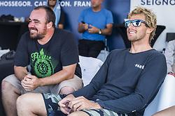 October 12, 2017 - Sebastian Zietz (HAW) winner of heat 10 of round One during Quiksilver Pro France 2017, Hossegor, France..Quiksilver Pro France 2017, Landes, France - 12 Oct 2017 (Credit Image: © WSL via ZUMA Press)