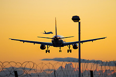 2015-08-23 Stock Images - Heathrow sunset take-offs, landings
