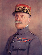 Ferdinand Foch (1851-1929) French soldier who entered the army in 1871. Director of the Ecole de Guerre (School of War) 1907-1911. In the First World War he was appointed French Chief of General Staff in 1918. In March 1918 he was appointed Supreme Allied Commander.  Foche in 1925 as a Marshal of France.