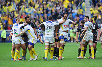 Joie Sebastien VAHAAMAHINA - 18.04.2015 - Clermont / Saracens - 1/2Finale European Champions Cup<br />Photo : Jean Paul Thomas / Icon Sport