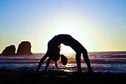 500px Photo ID: 4400204 - gymnast on the beach
