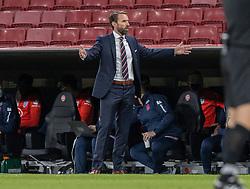 Cheftræner Gareth Southgate (England) under UEFA Nations League kampen mellem Danmark og England den 8. september 2020 i Parken, København (Foto: Claus Birch).