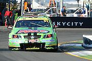 Pepsi Max Crew's Greg Murphy action during  Race 5 of the ITM 400 Hamilton,Hamilton Street Circuit, Day Two, Hamilton City ,V8 supercars,, Photo: Dion Mellow / photosport.co.nz