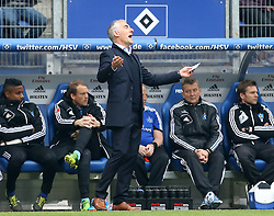 Football: Germany, 1. Bundesliga<br /> Trainer Mirko Slomka (Hamburger SV, HSV)
