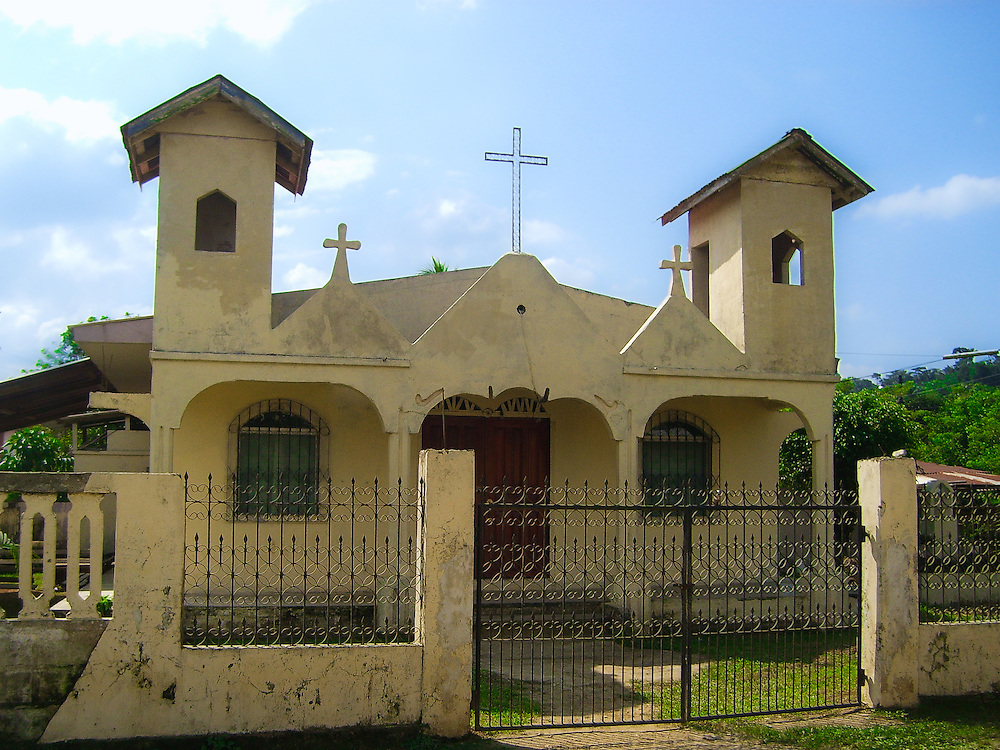 This is a little church located in the village of Corinto Honduras.