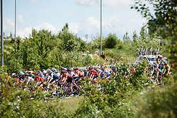 Lisa Klein (GER) in the bunch at Stage 2 of 2019 OVO Women's Tour, a 62.5 km road race starting and finishing in the Kent Cyclopark in Gravesend, United Kingdom on June 11, 2019. Photo by Sean Robinson/velofocus.com