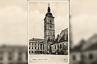 Zagreb : Crkva sv. Marka <br /> <br /> ImpresumZagreb : Knjižara i papirnica Kugli, [19--]. [19--].<br /> Materijalni opisfotografija ; 14 x 9 cm<br /> NakladnikKnjižara Stjepan Kugli (Zagreb)<br /> Mjesto izdavanjaZagreb<br /> Vrstavizualna građa • razglednice<br /> ZbirkaZbirka razglednica • Grafička zbirka NSK<br /> ProjektPozdrav iz Hrvatske • Pozdrav iz Zagreba<br /> Formatimage/jpeg<br /> PredmetZagreb –– Trg Svetog Marka<br /> Jezikhrvatski<br /> Obuhvat(vremenski)20. stoljeće<br /> NapomenaRazglednica nije putovala.<br /> PravaJavno dobro<br /> NBN.HRNBN: urn:nbn:hr:238:780530 <br /> <br /> Izvor: Digitalne zbirke Nacionalne i sveučilišne knjižnice u Zagrebu