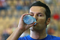Renato Vugrinec of Slovenia before  handball game between men national teams of Slovenia and Slovakia, first qualification game for the World Chamionship 2009, on June 7, 2008, in Arena Zlatorog, Celje, Slovenija. Result: 33 : 33. (Photo by Vid Ponikvar / Sportal Images)