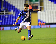 Ryan Shotton during the Sky Bet Championship match between Birmingham City and Bolton Wanderers at St Andrews, Birmingham, England on 23 February 2016. Photo by Daniel Youngs.