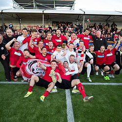 Alloa Athletic v Brechin City, Ladbrokes Championship Play-Off 2nd Leg