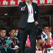 Besiktas's coach Carlos CARVALHAL during their Turkish superleague soccer match Besiktas between MKE Ankaragucu at BJK Inonu Stadium in Istanbul Turkey on Monday, 19 September 2011. Photo by TURKPIX