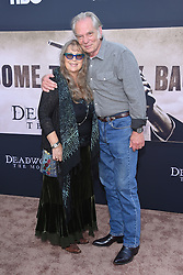 May 14, 2019 - Hollywood, California, U.S. - Leon Rippy and Carol Rippy arrives for the premiere of HBO's 'Deadwood' Movie at the Cinerama Dome theater. (Credit Image: © Lisa O'Connor/ZUMA Wire)