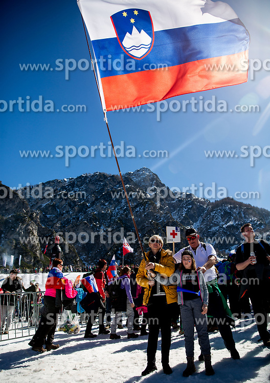 Supporters during the Ski Flying Hill Team Competition at Day 3 of FIS Ski Jumping World Cup Final 2019, on March 23, 2019 in Planica, Slovenia. Photo by Masa Kraljic / Sportida