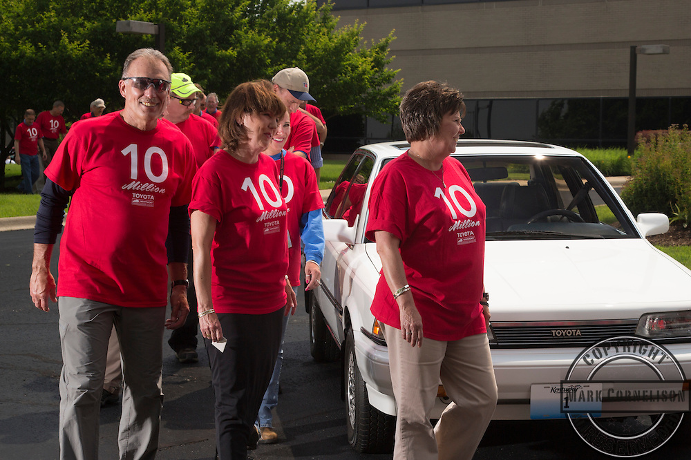 The 10 millionth Toyota Camry produced in Kentucky on Tuesday  May 27, 2014 in Georgetown, Ky. Photo by Mark Cornelison