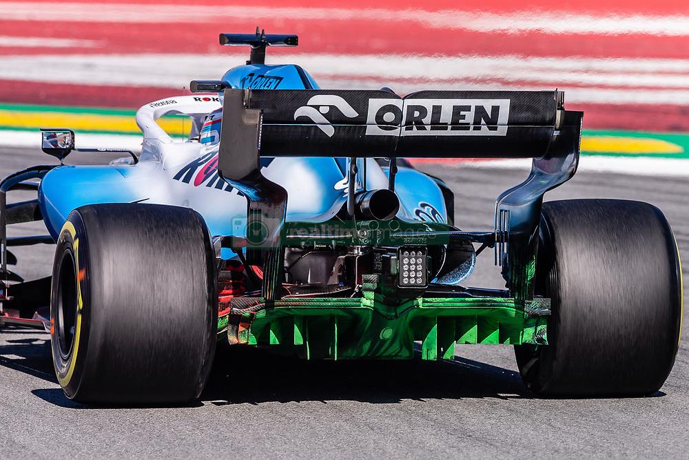 February 26, 2019 - Barcelona, Barcelona, Spain - Williams  aerodinamic detail of rear difussor  during the Formula 1 2019 Pre-Season Tests at Circuit de Barcelona - Catalunya in Montmelo, Spain on February 26. (Credit Image: © AFP7 via ZUMA Wire)