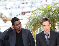 Chris Rock and.Ben Stiller at the Madagascar 3: Europe's Most Wanted photocall at the 65th Cannes Film Festival. Friday 18th May 2012 in Cannes Film Festival, France.