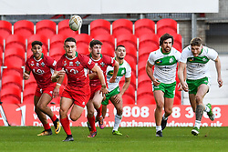 11th November 2018 , Racecourse Ground,  Wrexham, Wales ;  Rugby League World Cup Qualifier,Wales v Ireland ; James Olds of Wales in actions<br /> <br /> <br /> Credit:   Craig Thomas/Replay Images