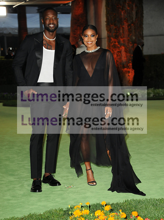 Gabrielle Union and Dwyane Wade at the Academy Museum of Motion Pictures Opening Gala held in Los Angeles, USA on September 25, 2021.