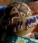 The Shekere is a West African percussion instrument