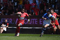 Essai Josua Tuisova   - 09.05.2015 - Toulon / Castres  - 24eme journee de Top 14 <br />Photo :  Alexandre Dimou / Icon Sport
