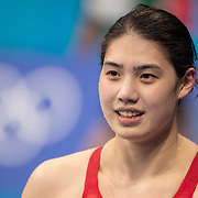 TOKYO, JAPAN - JULY 29:   Yufei Zhang of China winning the gold medal in the 200m butterfly for women during the Swimming Finals at the Tokyo Aquatic Centre at the Tokyo 2020 Summer Olympic Games on July 29, 2021 in Tokyo, Japan. (Photo by Tim Clayton/Corbis via Getty Images)