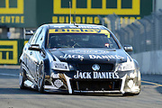 Jack Daniels racing's Todd Kelly action during  Race 5 of the ITM 400 Hamilton,Hamilton Street Circuit, Day Two, Hamilton City ,V8 supercars,, Photo: Dion Mellow / photosport.co.nz