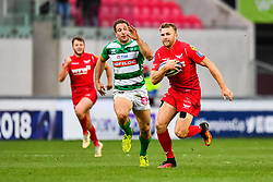 Scarlets' Tom Prydie in action - Mandatory by-line: Craig Thomas/JMP - 09/12/2017 - RUGBY - Parc y Scarlets - Llanelli, Wales - Scarlets v Benetton Rugby - European Rugby Champions Cup
