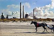 Nederland, Velsen, 26-2-2006Corus, hoogovens. Foto: Flip Franssen, NVF, 024-3238442