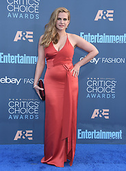 Celebrities arrive on the red carpet for the 22nd Annual Critics' Choice Awards held at Barker Hanger in Santa Monica. 11 Dec 2016 Pictured: Anna Chlumsky. Photo credit: American Foto Features / MEGA TheMegaAgency.com +1 888 505 6342