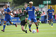 AFC Wimbledon v Doncaster Rovers 260817