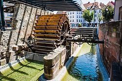 An old watermill in Haguenau, Alsace, France<br /> <br /> (c) Andrew Wilson   Edinburgh Elite media