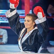 NLD/Amsterdam/20181031 - Boxingstars 2018, 1e aflevering, Laura Ponticorvo