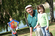 Grandfather Granddaughter at William R. Mason Regional Park