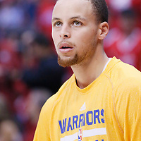 21 April 2014: Golden State Warriors guard Stephen Curry (30) warms up prior to the Los Angeles Clippers 138-98 victory over the Golden State Warriors, during Game Two of the Western Conference Quarterfinals of the NBA Playoffs, at the Staples Center, Los Angeles, California, USA.