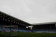 An empty Villa Park on a grey day ahead of the match. Barclays Premier league match, Aston Villa v Arsenal at Villa Park in Birmingham on Saturday 20th Sept 2014<br /> pic by Mark Hawkins, Andrew Orchard sports photography.