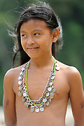 Retrato de niña emberá / comunidad indígena emberá, Panamá<br /> <br /> Víctor Santamaría | Fine Art