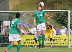 Jesper Myhrmann (Avarta) under kampen i 2. Division Øst mellem Boldklubben Avarta og FC Helsingør den 19. august 2012 i Espelunden. (Foto: Claus Birch).