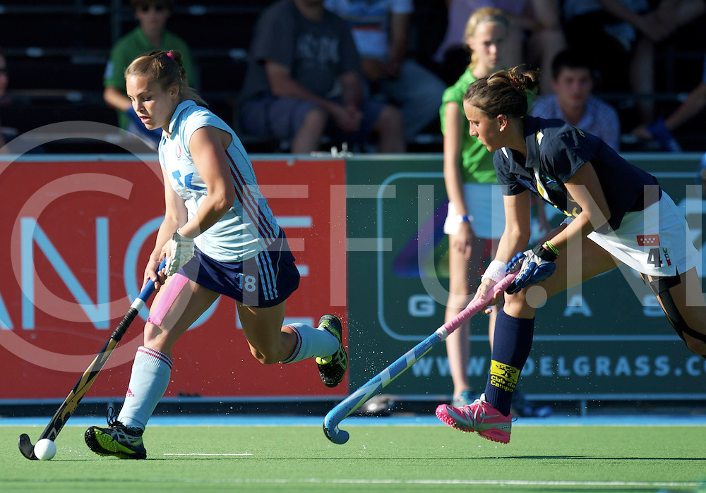 Amstelveen - Eurohockey Club Champions Cup<br /> Club de Campo - UHC Hamburg<br /> foto: Lisa Hahn.<br /> FFU PRESS AGENCY COPYRIGHT FRANK UIJLENBROEK
