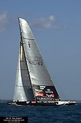 NZL82 in race two of the America's Cup 2003. 16/2/2003 (© Chris Cameron 2003)