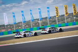 June 17, 2017 - Budapest, Hungary - Motorsports: DTM race Budapest, Saison 2017 - 3. Event Hungaroring, HU, # 31 Tom Blomqvist (GBR, BMW Team RMR, BMW M4 DTM), # 36 Maxime Martin (BEL, BMW Team RBM, BMW M4 DTM) (Credit Image: © Hoch Zwei via ZUMA Wire)
