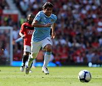 Fotball<br /> England<br /> Foto: Fotosports/Digitalsport<br /> NORWAY ONLY<br /> <br /> Carlos Tevez<br /> Manchester City 2009/10<br /> Manchester United V Manchester City (4-3) 20/09/09<br /> The Premier League