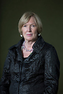 Canadian-born academic and historian Margaret MacMillan, pictured at the Edinburgh International Book Festival where she talked about her latest book entitled 'The War That Ended Peace'. The three-week event is the world's biggest literary festival and is held during the annual Edinburgh Festival. The 2014 event featured talks and presentations by more than 500 authors from around the world and was the 31st edition of the festival.