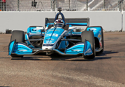 March 9, 2019 - St. Petersburg, FL, U.S. - ST. PETERSBURG, FL - MARCH 09: Carlin driver Max Chilton (59) of Great Britain during the NTT IndyCar Series - Firestone Grand Prix Qualifying on March 9 in St. Petersburg, FL. (Photo by Andrew Bershaw/Icon Sportswire) (Credit Image: © Andrew Bershaw/Icon SMI via ZUMA Press)