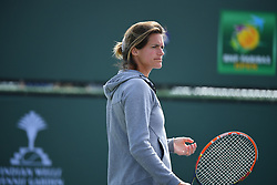 March 9, 2019 - Indian Wells, USA - Amelie Mauresmo (Credit Image: © Panoramic via ZUMA Press)
