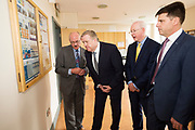 11/07/2017  REPRO FREE:   Mr George McCourt  Head of innovation GMIT Minister of State Pat Breen, Department of Enterprise and Innovation, Barry Egan Enterprise Ireland and Dr Rick officer VP for research GMIT  on a visit to the iHub and GMIT . Photo:Andrew Downes, xposure .